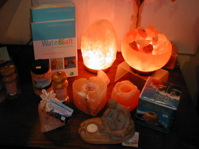 Salt Candles Or Lamps : About Me